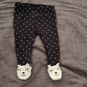 Carter's Cotton Footed Pants